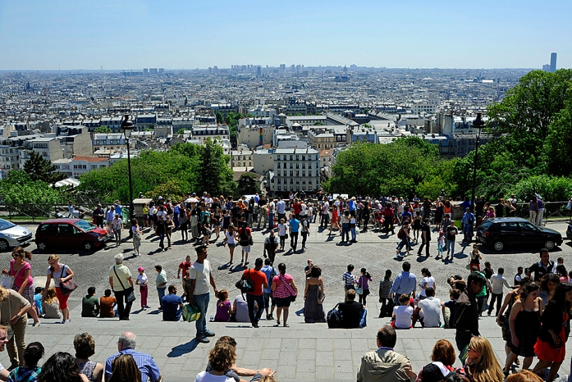 View from Sacré Cœur, Montmartre
