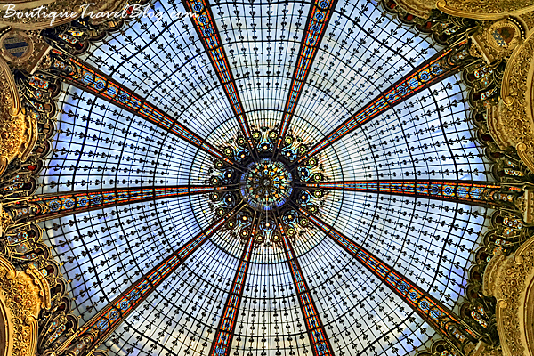 Galeries Lafayette glass dome