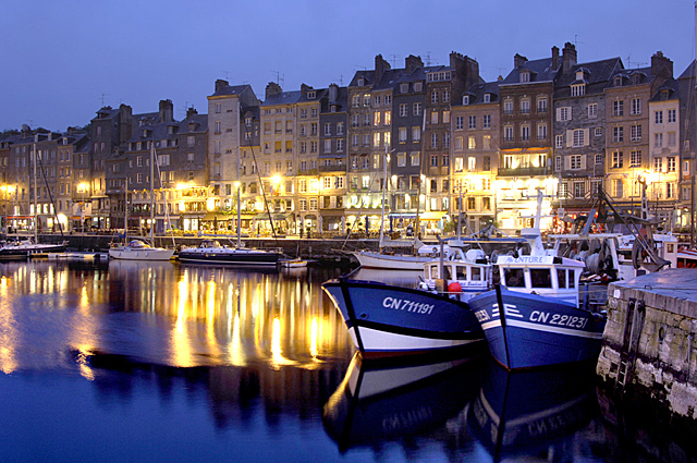 Honfleur at dusk