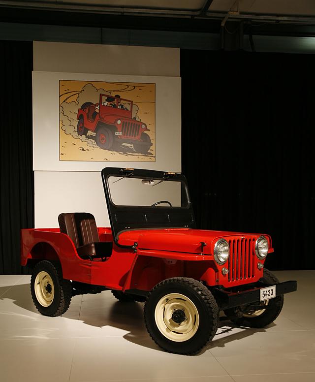 Tintin car rally