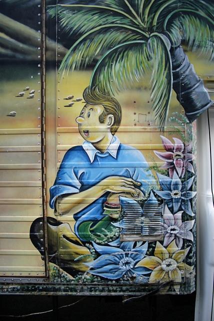 Tintin in Cape Verde