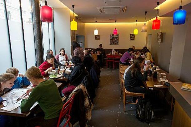 Foyer Vietnam, unusual paris restaurants