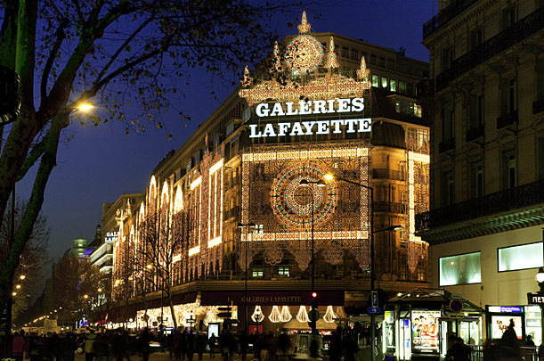 Galeries Lafayette, Boulevard Haussmann © Paris Tourist Office - Photographer: Jacques Lebar