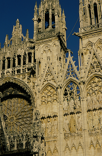 Rouen Cathedral: A ToutFrance/Hervo Le Gac