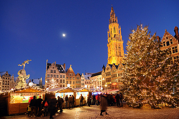 Belgium Christmas markets, Antwerp