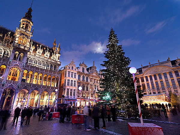 Belgium Christmas markets, Brussels