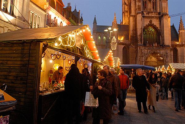Belgium Christmas market, Ghent