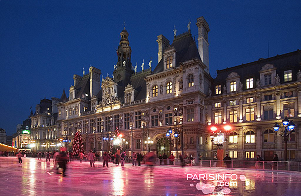 Mairie de Paris, Place de l'Hôtel-de-Ville  © Paris Tourist Office - Photographer : David Lefranc
