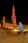 Grande Place at Christmas, Brussels, Belgium