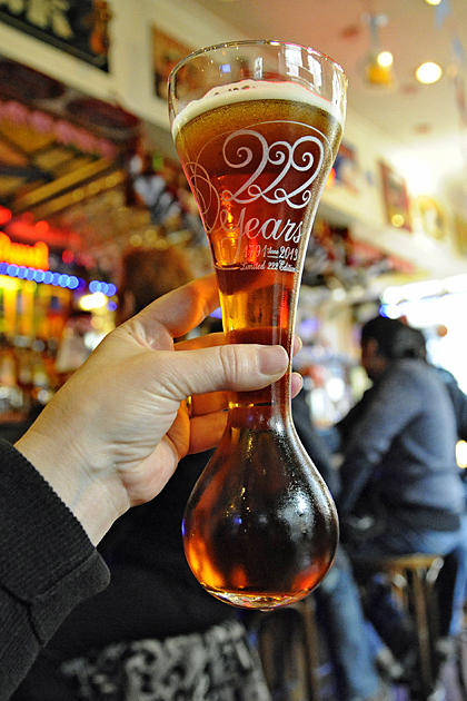 Kawk beer glass, Belgium beer