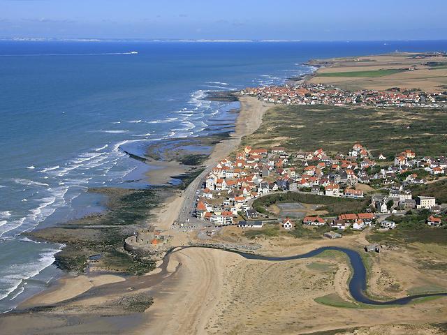 Nord-Pas- de-Calais coast line