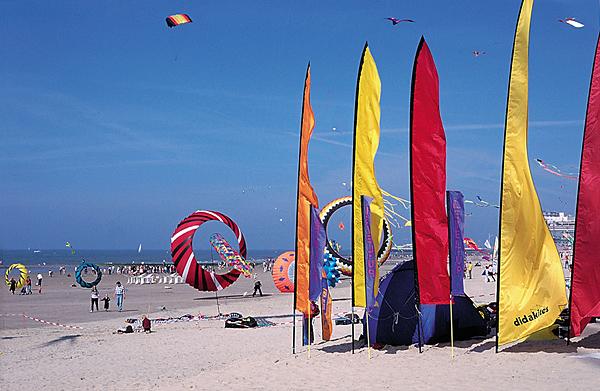 The annual kite festival Lotto Kites International