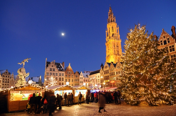 Antwerp at Christmas