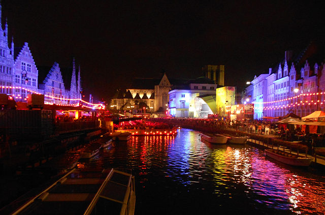 Festival by night