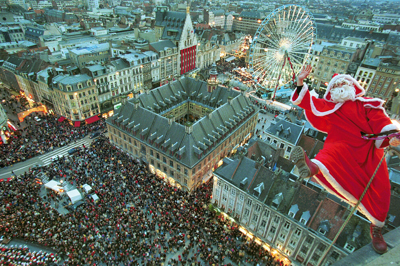 Father Christmas, Lille, France