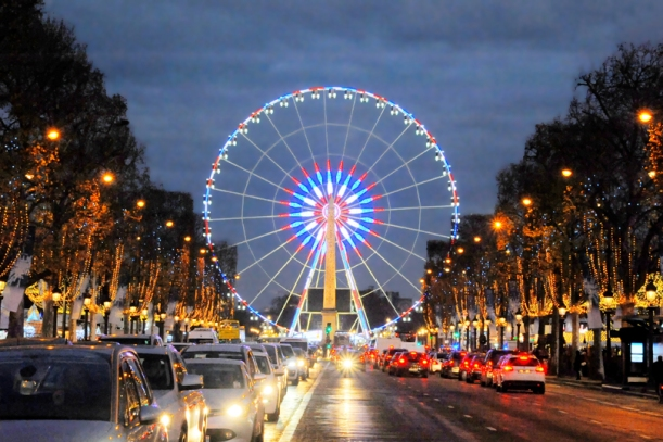 The Ferris Wheel, Le Marché de Noël des Champs-Elysées, Paris, France