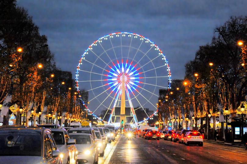 The Ferris Wheel, Le Marché de Noël des Champs-Elysées, Paris, France