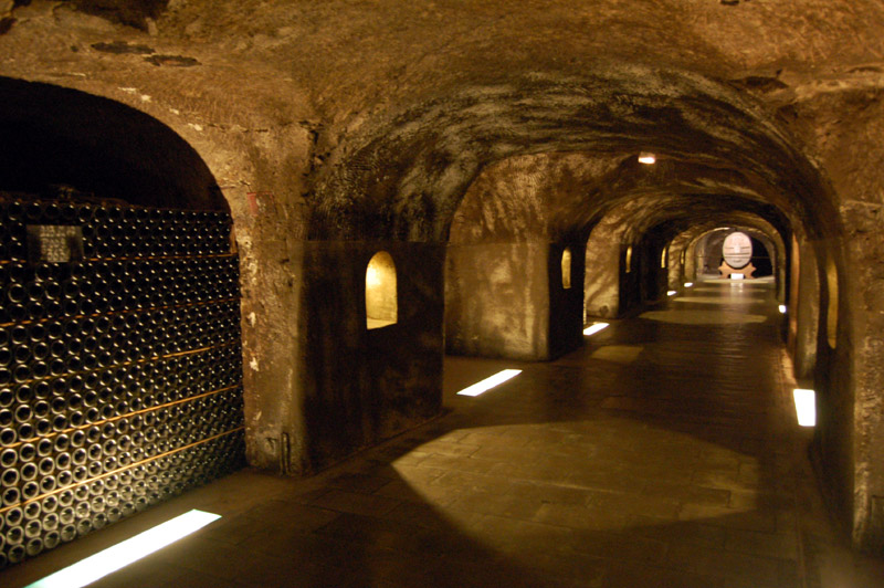 Moet & Chandon cellars - Great Escapes Blog